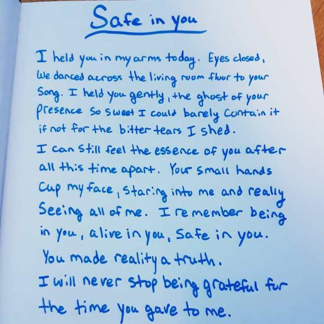 Safe in you