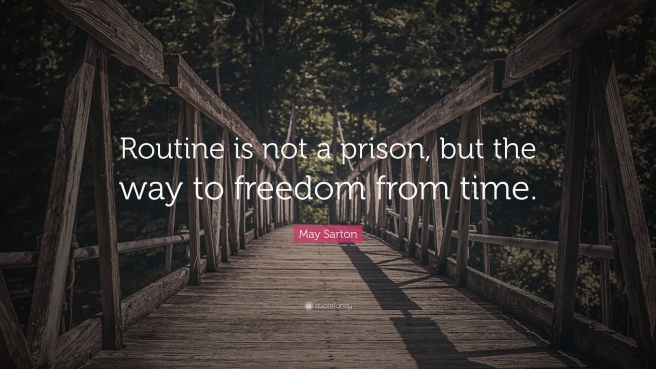 734663-May-Sarton-Quote-Routine-is-not-a-prison-but-the-way-to-freedom